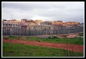 Melilla, Spain, looking into Morocco. 2007